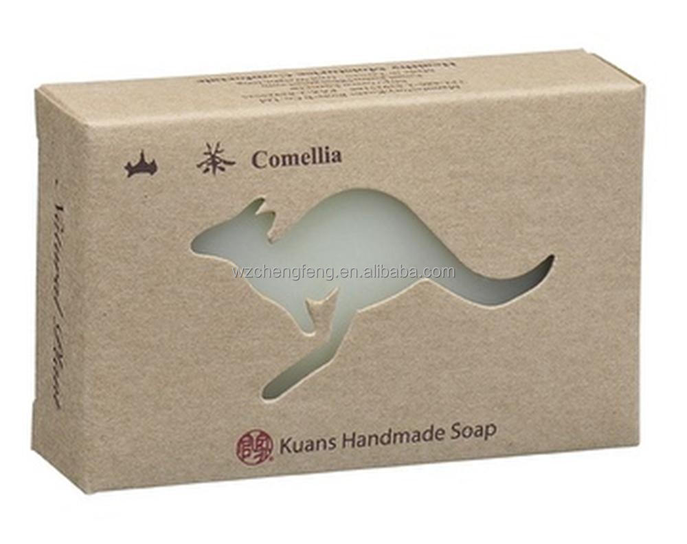 Natural Brown Kraft Cardboard Paper soap Box