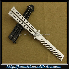 all kinds of new training butterfly knife with multi function tools