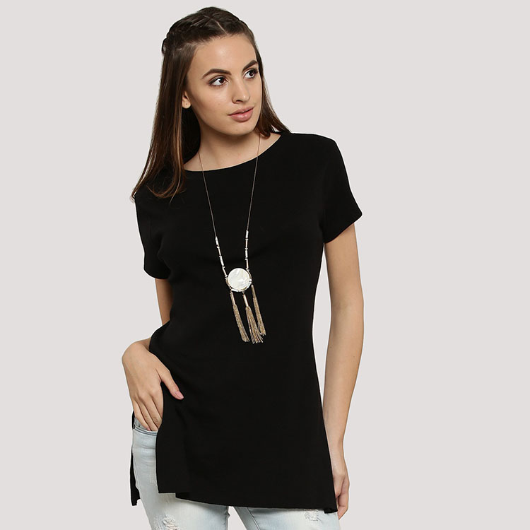 Side Slit T Shirt, Side Slit T Shirt Suppliers and Manufacturers at  Alibaba.com