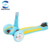 Children Mini Double Color Deck Kick Scooter with Flashing Wheels factory wholesale
