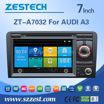 Zestech 7 Touch Screen 2 Din Car Dvd Car Radio Player For Audi A3