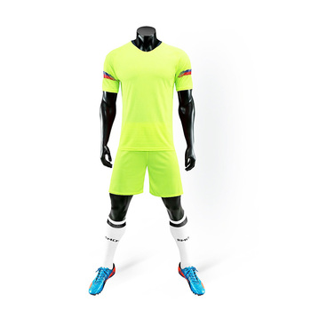 Wholesale Top Quality Custom Soccer Uniform Football Jersey Set
