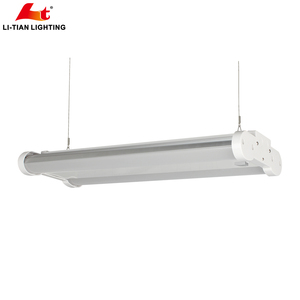 Professional Industrial Linear Highbay Lighting 130lm/W 100-300W Dimmable LED Linear High Bay Light