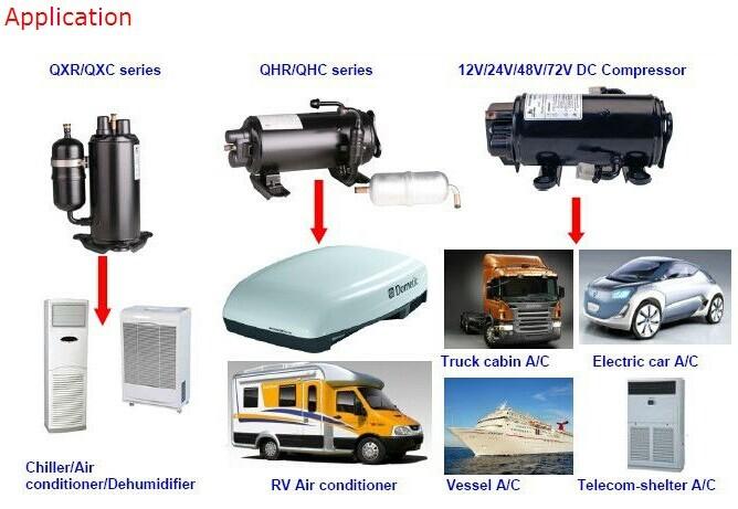 voiture lectrique ac compresseur cabine du camion climatiseur 12 v camping car climatisation. Black Bedroom Furniture Sets. Home Design Ideas