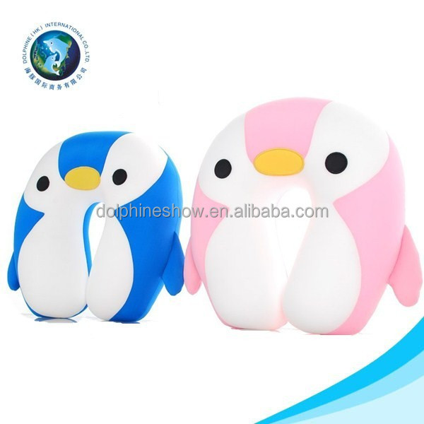 Wholesale Animal shaped funny shaped U pillow