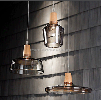 Modern Hand Blown Glass Pendant Lamp For Japan Korea Ul Etl