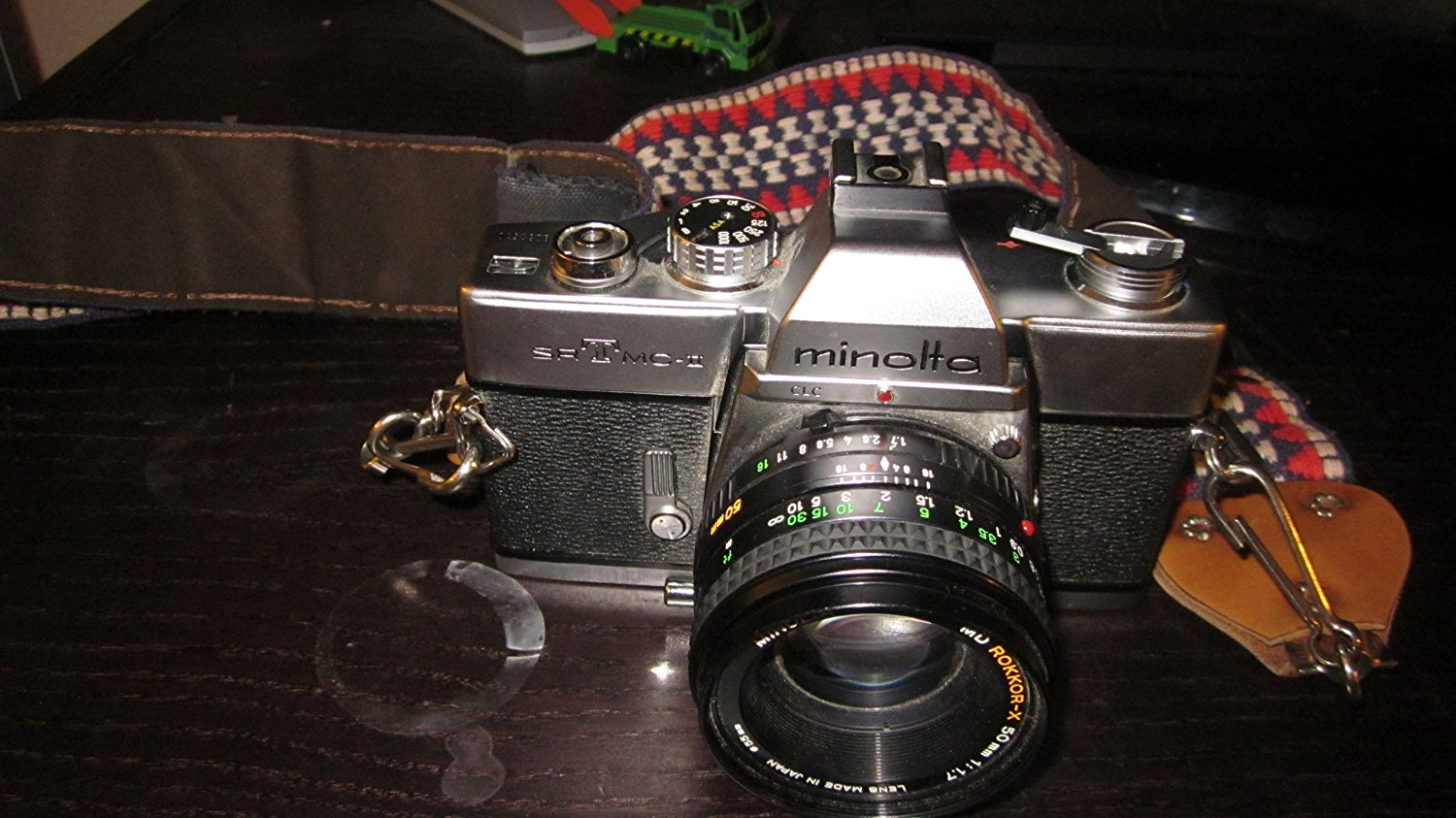 Buy Minolta X-370N 35mm SLR Film Camera Body, Strap & Manual