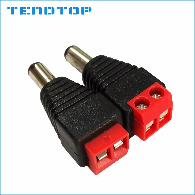CE FEMALE MALE DC POWER CONECTOR 5.5mm x 2.1mm