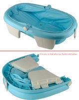 High Quality Infant Wash Tub Baby Folding Plastic Bath Tub With ...
