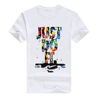 ODM/OEM Cheap blank custom whit t shirt printing cotton 100%