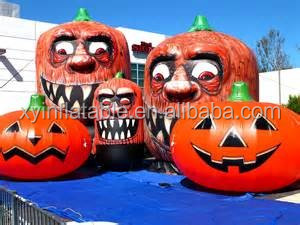 Giant inflatable Halloween Pumpkin replica light decorations