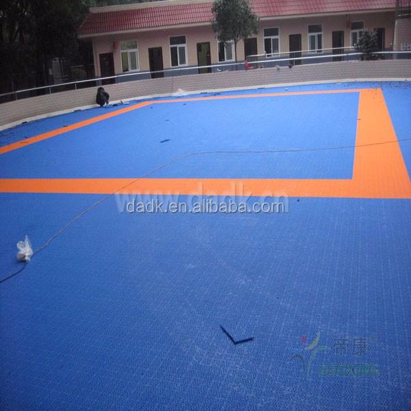 Outdoor Roller Skate Sport Court Floor Tile Outdoor Roller Skate - Skate court flooring
