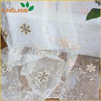 many flower colorful Jacquard sheer curtain european style curtains