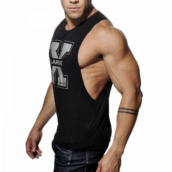 2015-New-Men-s-Vivid-Gym-Tank-Tops-Low-Cut-Armholes-Vest