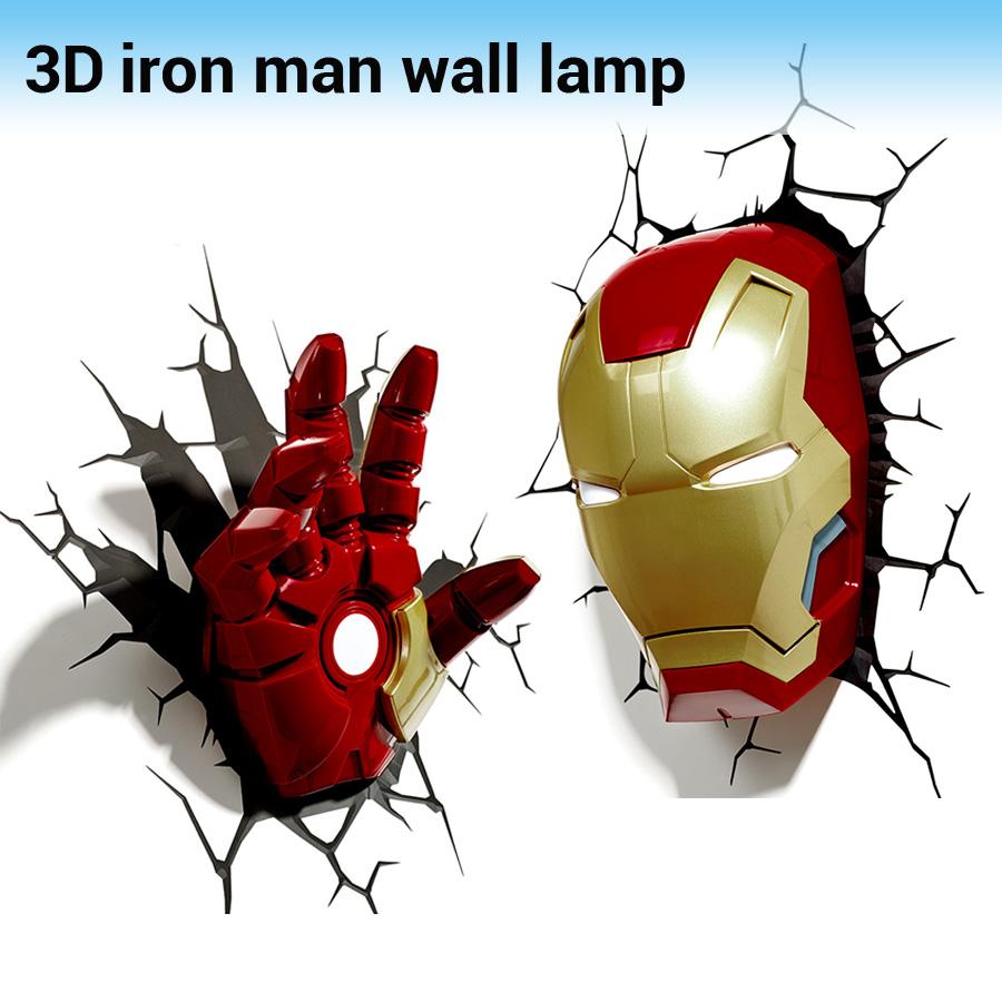 achetez en gros avengers mur lumi re en ligne des grossistes avengers mur lumi re chinois. Black Bedroom Furniture Sets. Home Design Ideas