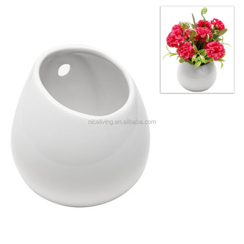 White Asker Style Herb Pot Utensil Holder
