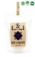 100g OEM/ODM Natural Crystal Bath Salt Spa Products