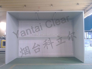 Open Front Industrial Paint Booth China Supplier