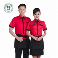 Custom High Quality Hotel Work Uniform Cleaner Waiter Uniform