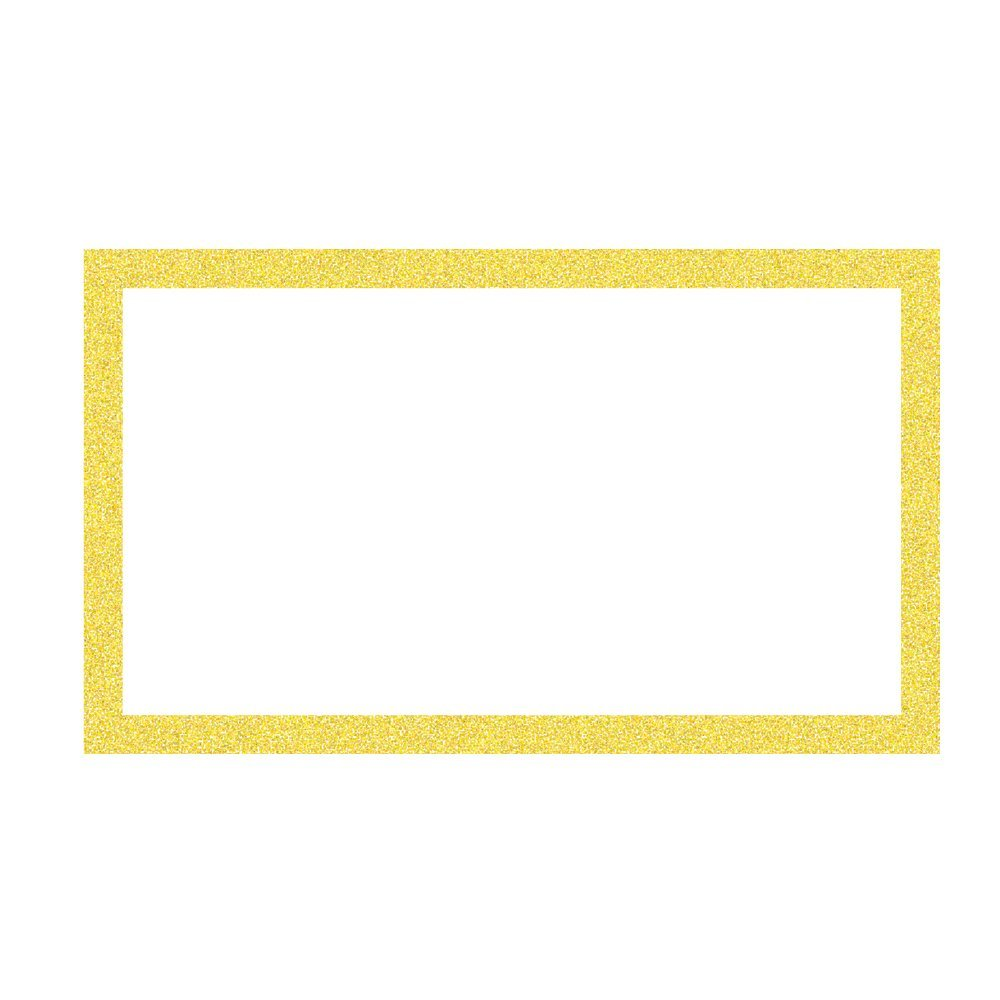 ArtSkills Glitter Framed Poster Board, 13 x 22 Inches, Pack of 60, Gold (PA-2038)