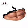 Flesh Color Creative Fanny Pack Beer Fat Belly Bum Pouch Waist Bag