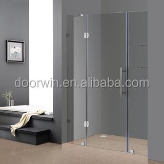 sin marco de vidrio bisagras shower doors puerta de la empresa