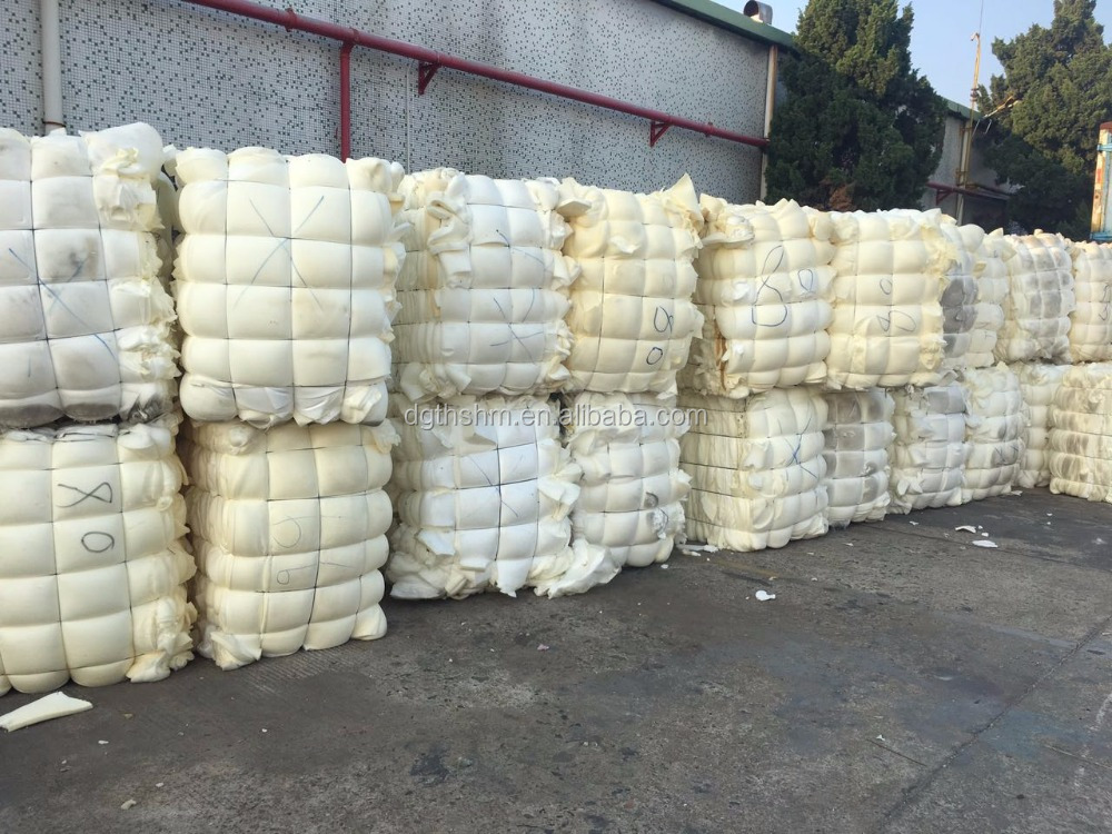 scrap recycled waste foam/sponge in bale without contanmination