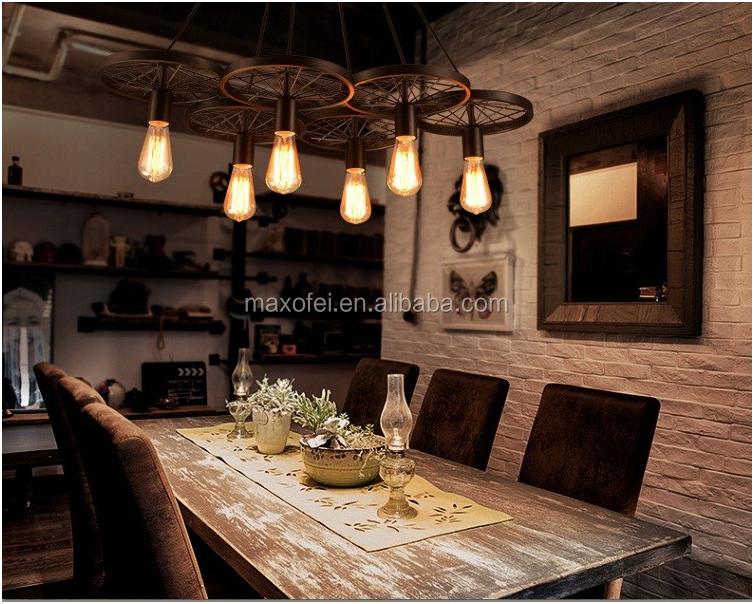 Venta al por mayor lamparas r sticas compre online los for Lamparas cocinas rusticas