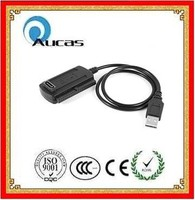 High quality USB 2.0 to IDE SATA 2.5 3.5 Hard Drive HDD Converter Adapter Cable made in china