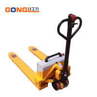 Semi electric pallet jack china brand small pallet truck