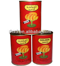 canned yellow peach / canned white peach /canned fruit in light syrup