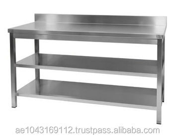 Nice Stainless Steel Counter Table
