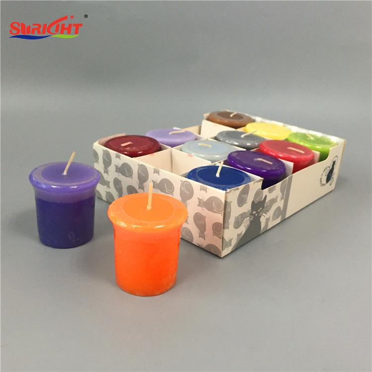 Aromatic Romantic 8H Wedding Use Handmade Votive Candle Gift Set