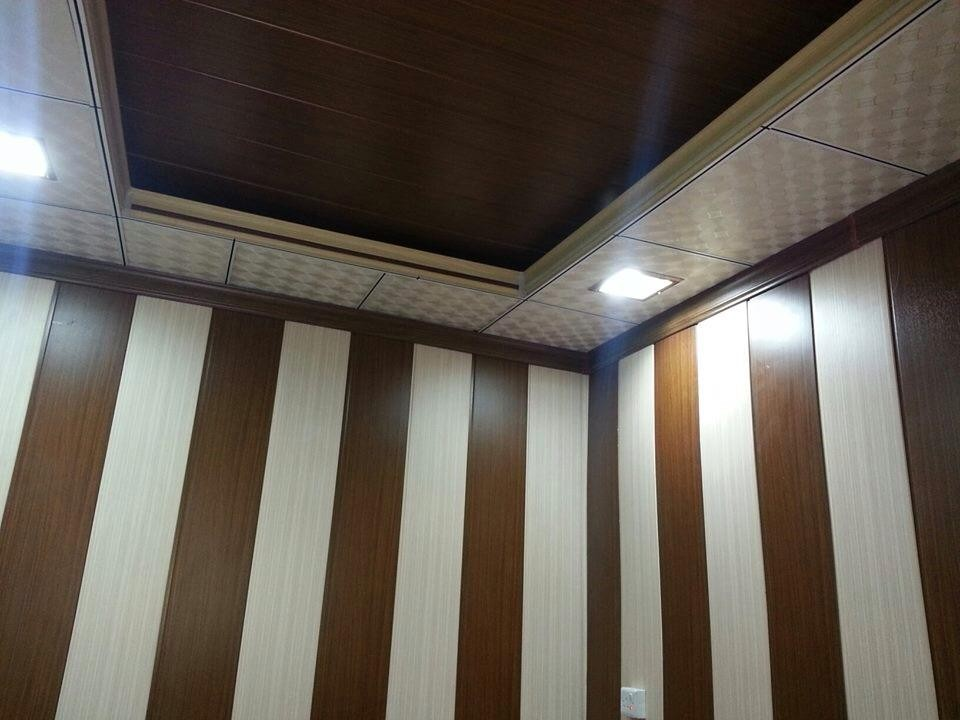 Glossy Printing Wood 25cm 9mm 5 95m Waterproof Pvc Ceiling