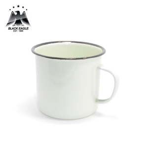 350ml china supplier tin blank camping cfofee mugs enamel tea mug