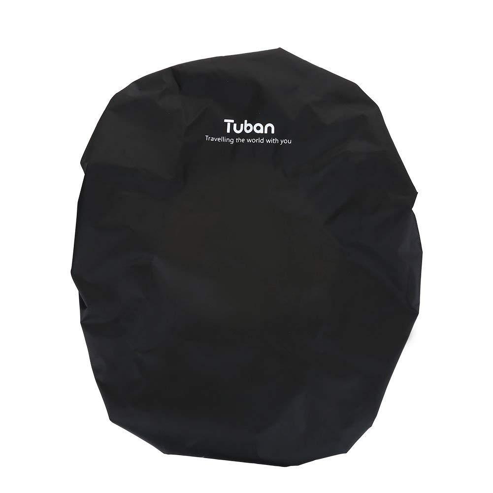 Dilwe Backpack Cover, Lightweight Waterproof Nylon Backpack Rain Cover Elastic Adjustable Dustproof Protector Pack Covers