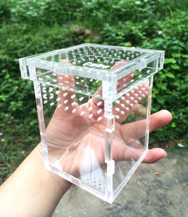 wholesale acrylic plastic clear reptile cages
