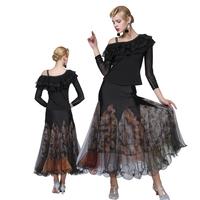 OCT5918 Stage Wear Supplier Stage wear Supplier Stretch Girls Ballroom Dance Wear