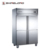 Catering Refrigeration Equipment 6 Doors Static Cooling Commercial Kitchen Vertical Freezer and Refrigerator R219-2