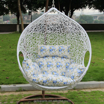 Outdoor Furniture Freestanding Chair Garden Swing Single