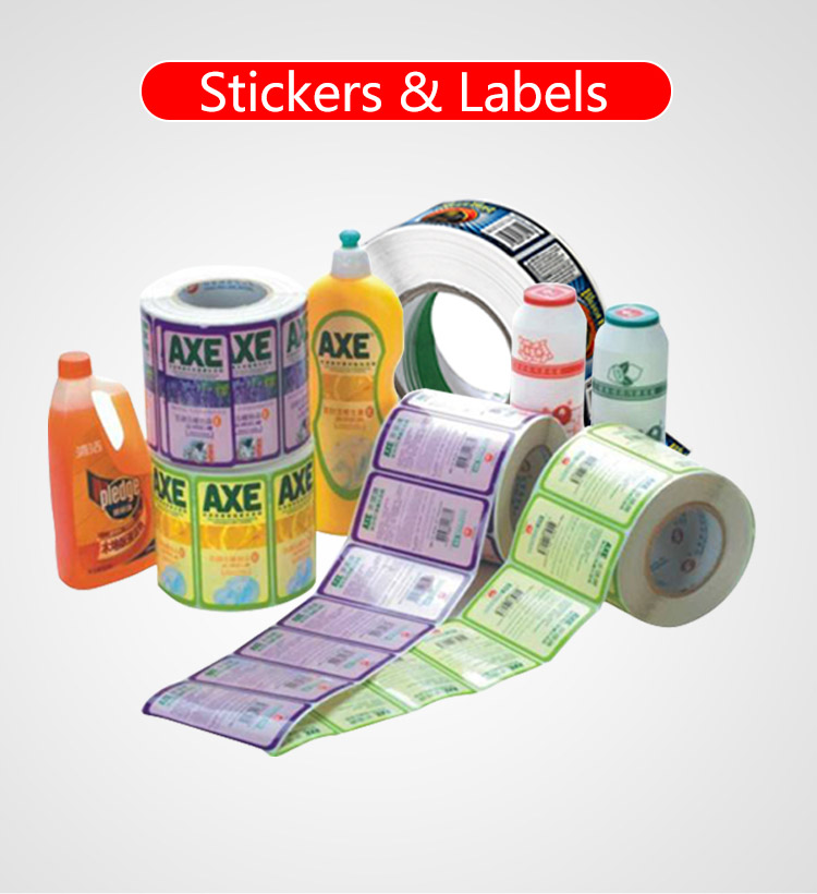 Custom Vinyl Logo Sticker, Afdrukken thermische Label Roll, Private Label Print Blanco Barcode Papier