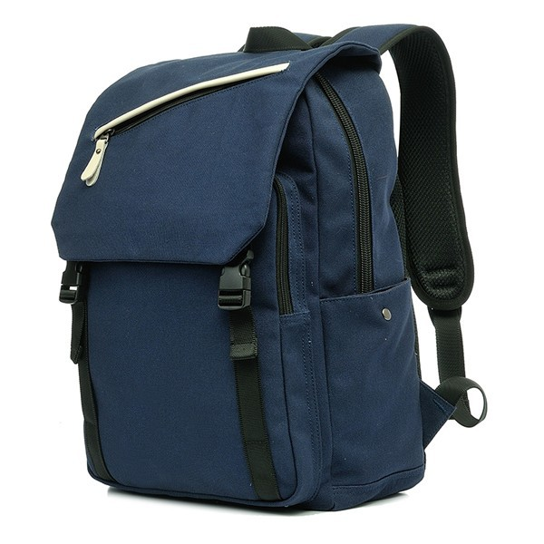 canvas backpack for travelers