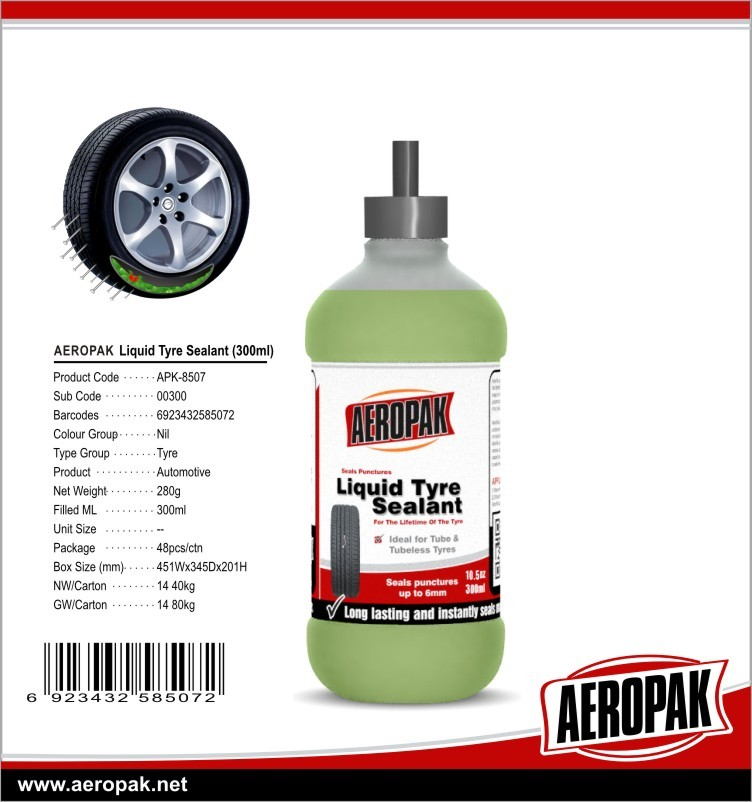 Tyre Puncture Repair Kit with Liquid Tire Sealant For Tubeless Tyre With The Lowest Price