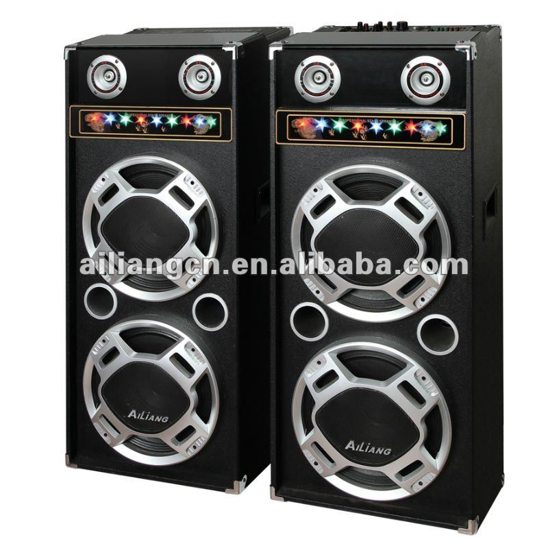 ailiang 2.0 Professional Stage Speaker USBFM-1212K/2.0
