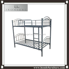 Twin futon metal frame bunk iron bed for students for employee for hotel