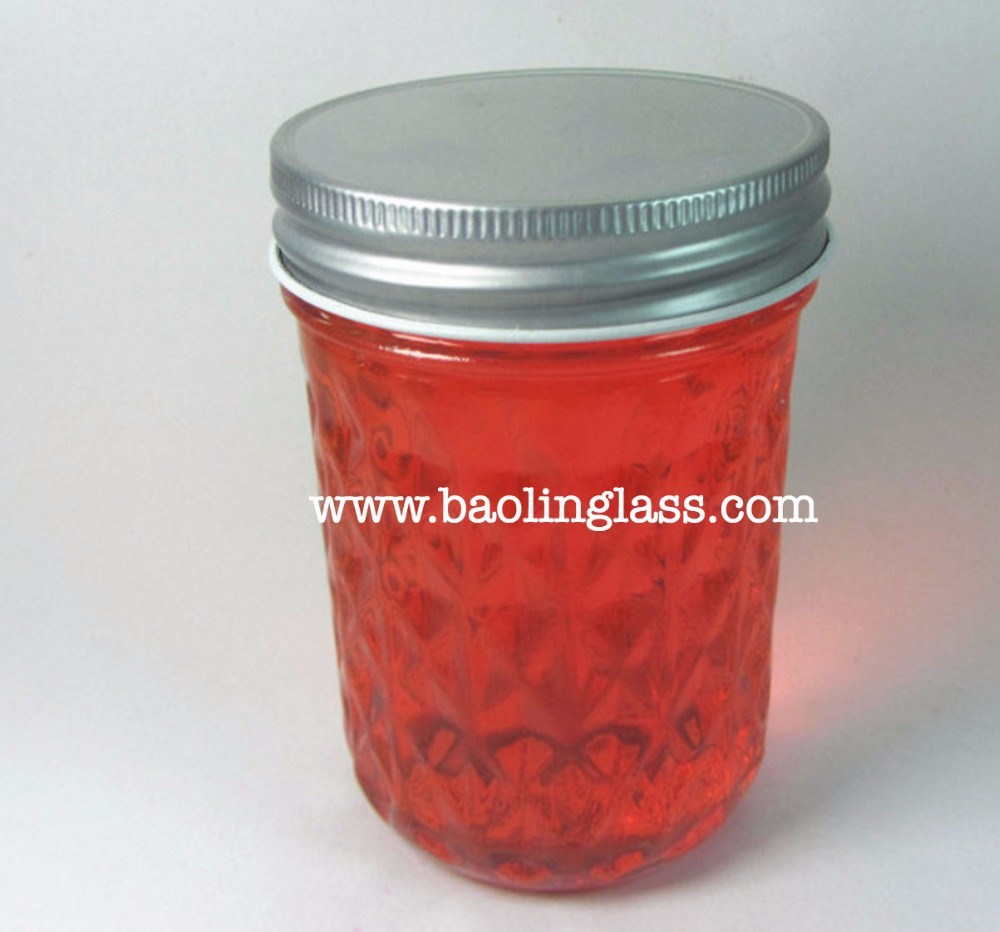 200ml ball glass maoson jar