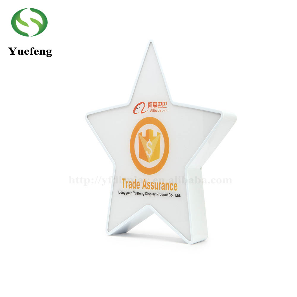Custom Acrylic <strong>Craft</strong> For Decorations Desktop Star Shape Display