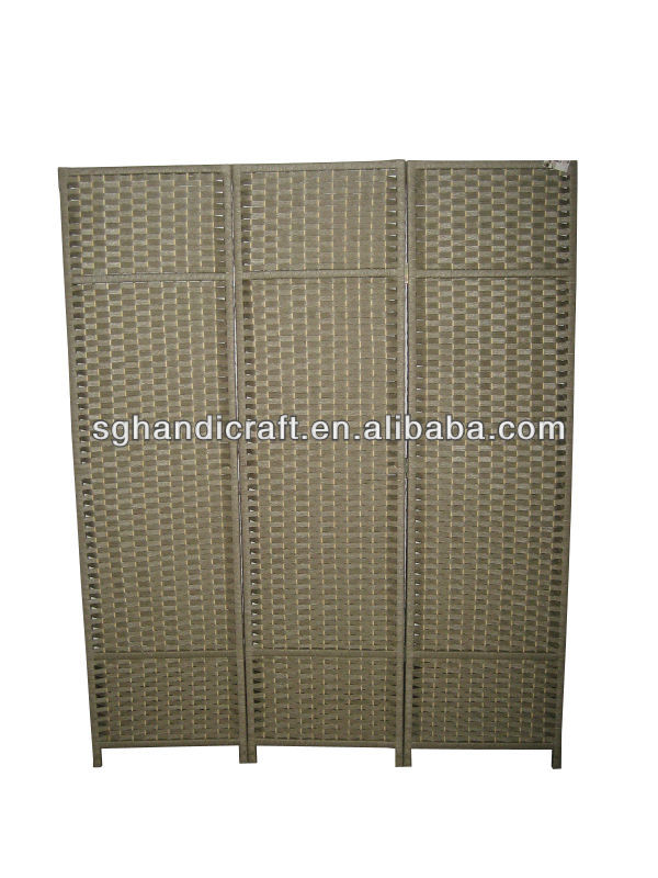 sdouble-sided woven screen with two-way hinge