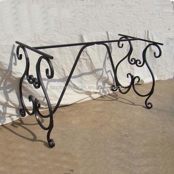 Decorative Steel Rectangular Table Base