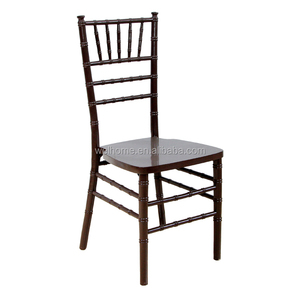 Wedding banquet event solid wood stackable chiavari chairs for wedding and event